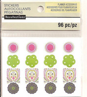 Recollections Planner Stickers:  Boho Hole Reinforcements - tarrapakkaus