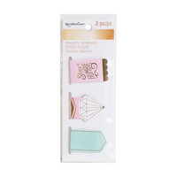 Recollections Creative Year Magnetic Bookmarks: Blush
