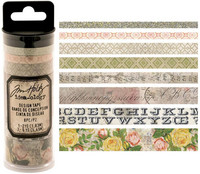 Tim Holtz Design Tape: Rose