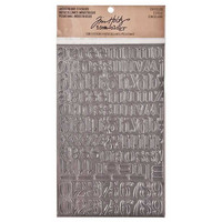 Tim Holtz Idea-ology Industrious Stickers: Chiseled