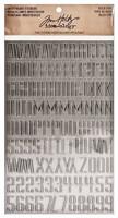 Tim Holtz Idea-ology Industrious Stickers: Deco Type
