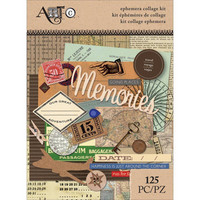 Art C Ephemera Collage Kit: Travel - pakkaus