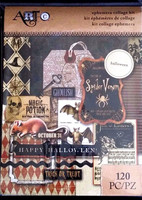 Art C Ephemera Collage Kit: Halloween - pakkaus