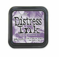 Distress Ink: Dusty Concord -mustetyyny