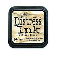 Distress Ink: Antique Linen -mustetyyny