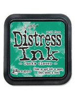 Distress Ink: Lucky Clover -mustetyyny