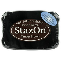 Stazon: Timber Brown -mustetyyny