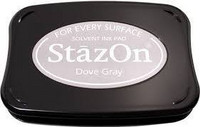 Stazon: Dove Grey -mustetyyny