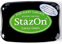 Stazon: Cactus Green -mustetyyny
