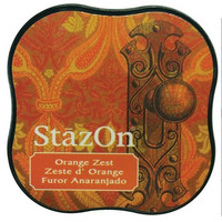 Stazon Midi: Orange Zest -mustetyyny