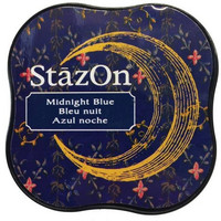 Stazon Midi: Midnight Blue -mustetyyny