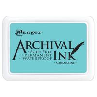 Archival Ink: Aquamarine - mustetyyny