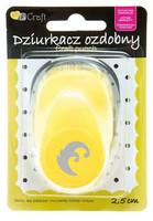 DP Craft : Swirl 2,5 cm  - kuviolävistäjä