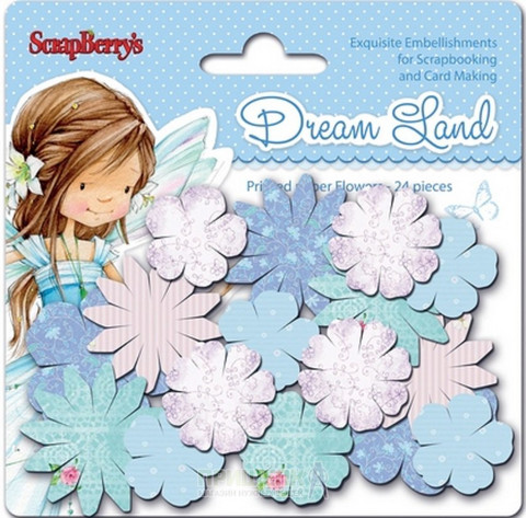 Scrapberry: Dream Land - kukkapakkaus