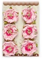 Reprint: Pink Flowers  - paperikukkapakkaus