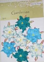 Reprint: Gardenias Spring  - paperikukkapakkaus