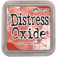 Distress Ink Oxide: Fired Brick -mustetyyny
