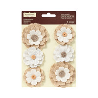 Recollections: Burlap Blooms Flowers