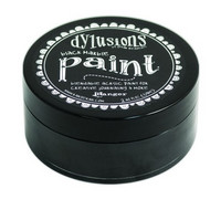 Dylusions Paint 59ml - Black Marble