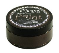 Dylusions Paint 59ml - Ground Coffee