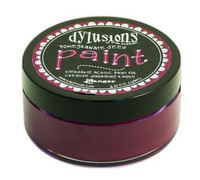 Dylusions Paint 59ml - Pomegranate Seed