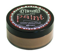 Dylusions Paint 59ml - Melted Chocolate