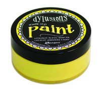 Dylusions Paint 59ml - Lemon Zest