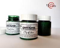 13arts Ayeeda Paint: Metallic Green 25 ml