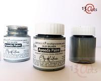 13arts Ayeeda Paint: Metallic Old Silver 25 ml