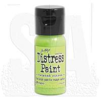 Distress Paint: Twisted Citron - akryylimaali