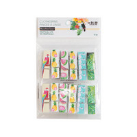 Recollections Tropical Life Clothespins -pakkaus