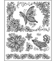 Scribble Butterfly - leimasinsetti