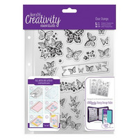 Butterflies A5  Clear Stamps -leimasinsetti