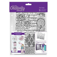 Musicality Background A5  Clear Stamps -leimasinsetti