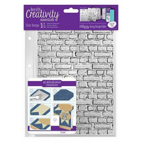 Brickwork Background A5  Clear Stamps -leimasinsetti