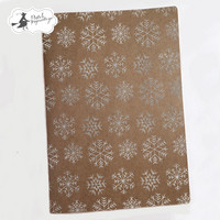 Snowflake A5  Art Journal