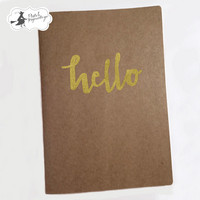 Hello A5  Art Journal