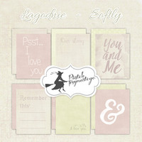 Journaling Cards 3x4: Softly