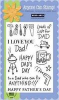 Happy Dad's Day - leimasinsetti