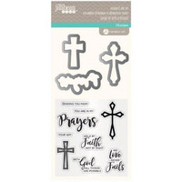 Jillibean Soup Stamp & Die: Prayers