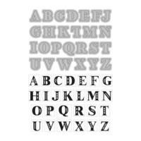 Art C Stamp & Cut: Alphabets