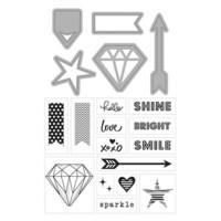 Art C Stamp & Cut: Diamonds