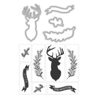 Art C Stamp & Cut: Deer