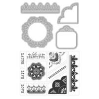 Art C Stamp & Cut: Doilies & Lace