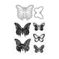 Art C Stamp & Cut: Butterflies
