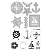 Art C Stamp & Cut: Nautical
