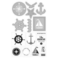 Art C Stamp & Cut: Nautical