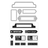 Art C Stamp & Cut: Office