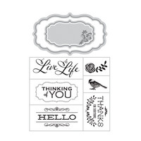 Art C Stamp & Cut: Love Hello