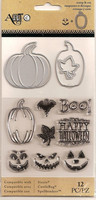 Art C Stamp & Cut: Jack O Lanterns